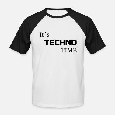 its techno time - Men's Baseball T-Shirt