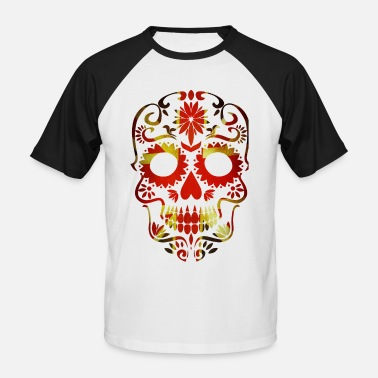 Mexico Day Of The Dead Día de los Muertos Day of the Dead Day of the Dead - Men's Baseball T-Shirt