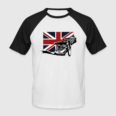 Track Speedway - Union Jack - Men's Baseball T-Shirt