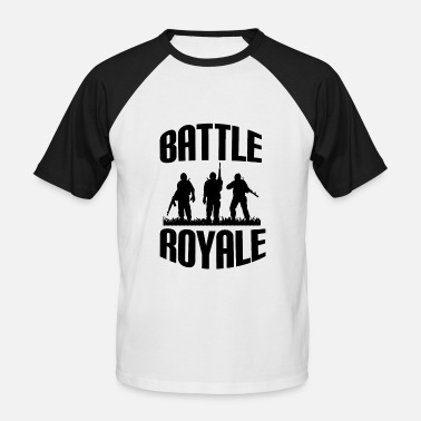 Battle Battle Royale - T-shirt baseball manches courtes Homme