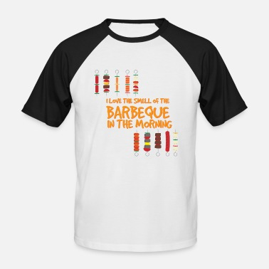 Instructeur Du Barbecue barbecue - T-shirt baseball manches courtes Homme