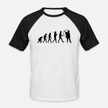 Paramotoring Evolution PPG - Men's Baseball T-Shirt