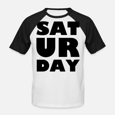 Saturday Night Live lördag - Baseball T-shirt herr