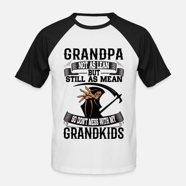 Funny Grandpa Grandpa - Men's Baseball T-Shirt
