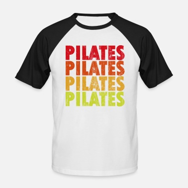 Pilate pilates - T-shirt baseball manches courtes Homme
