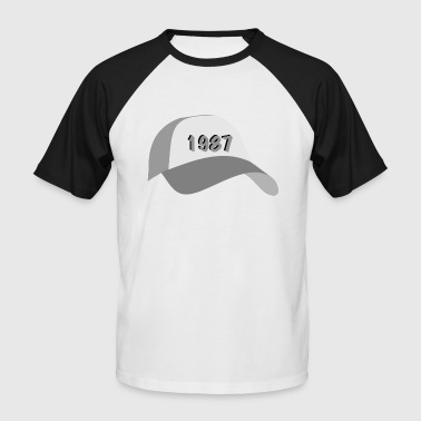 capy 1987 - T-shirt baseball manches courtes Homme