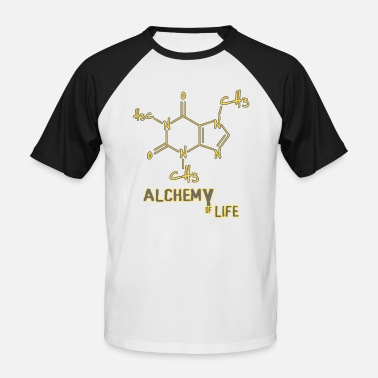 Alchimie de la vie - Coffee Coffee Lover Barista - T-shirt baseball manches courtes Homme