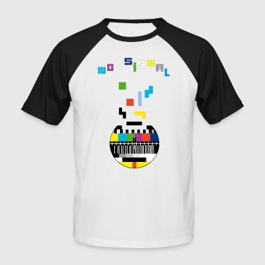 Signal no signal - Men's Baseball T-Shirt