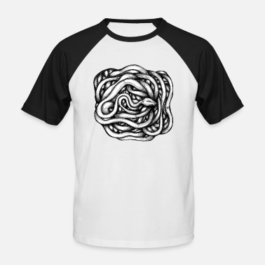 Infinite Snake Infinite - Men's Baseball T-Shirt