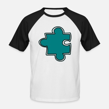 Puzzle puzzle - Men's Baseball T-Shirt