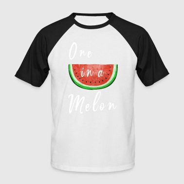 One In A Melon - Watermelon - Fruits - Fruit - Men's Baseball T-Shirt