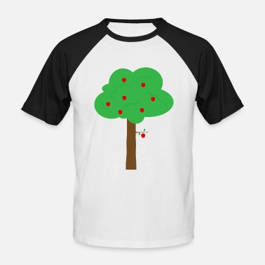 Apple Tree apple tree - Men's Baseball T-Shirt