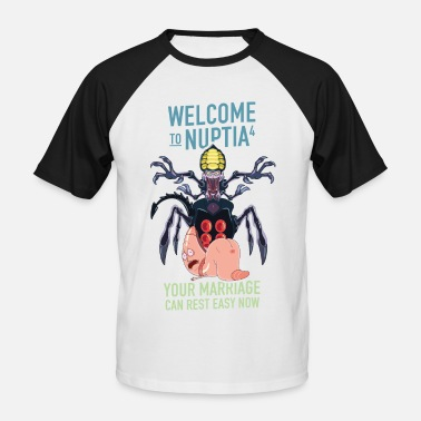 Rick Morty Rick and Morty Welcome To Nuptia - Men's Baseball T-Shirt