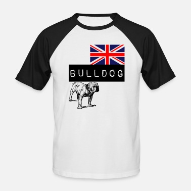 The British Empire British Bulldog 5 Edition - Men's Baseball T-Shirt