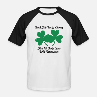 Charms Touch my lucky charms - Men's Baseball T-Shirt