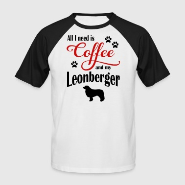 Leonberger Coffee - Men's Baseball T-Shirt