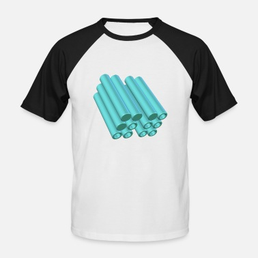 Architecture architectures - T-shirt baseball manches courtes Homme
