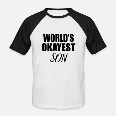 Sondre okay son - Men's Baseball T-Shirt