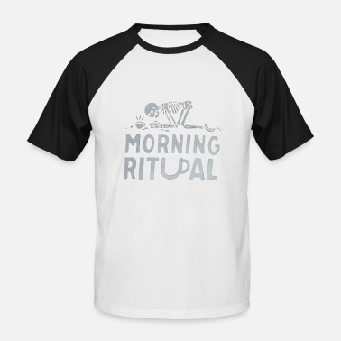 Ritual Morning Ritual - Men's Baseball T-Shirt