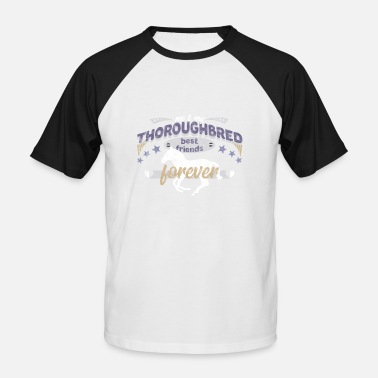 Thoroughbred Horse Thoroughbred Horse English thoroughbred horse - Men's Baseball T-Shirt