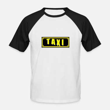 Taxi taxi - T-shirt baseball manches courtes Homme