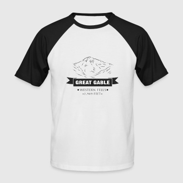 Great Gable - Kortærmet herre-baseballshirt