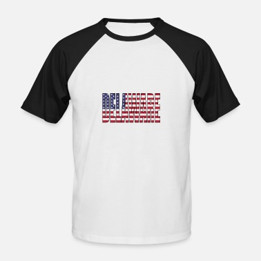 Delaware delaware USA - T-shirt baseball manches courtes Homme