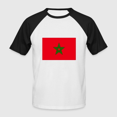 Morocco - Men's Baseball T-Shirt
