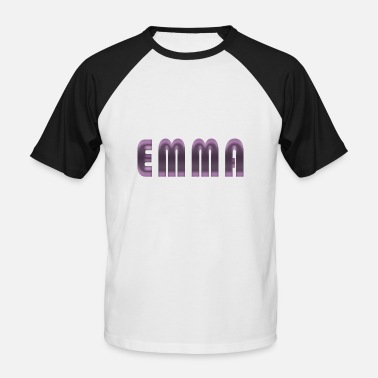 Birth Name Emma name first name name day birth gift idea - Men's Baseball T-Shirt