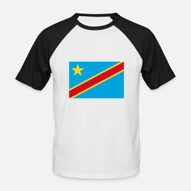 Democratic The Democratic Republic of the Congo flag - Men's Baseball T-Shirt