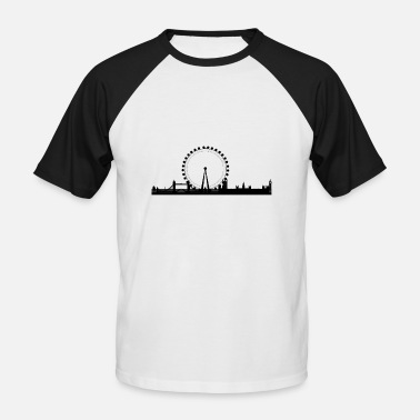 London Eye London - Men's Baseball T-Shirt