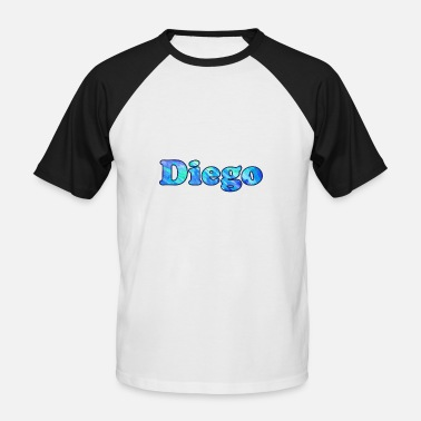 Diego Nom: Diego - T-shirt baseball manches courtes Homme