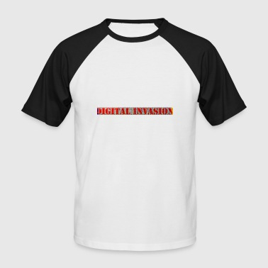 Invasie digitale invasie - Mannen baseballshirt korte mouw