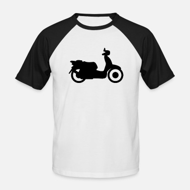 Vespa vespa moped - Kortermet baseball skjorte for menn