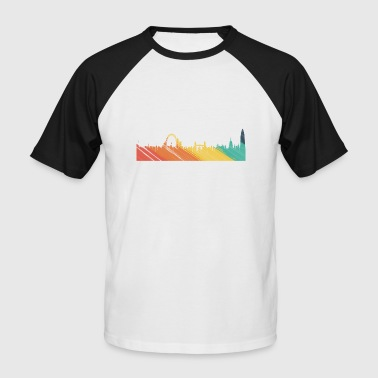 London-skyline Skyline London - Men's Baseball T-Shirt