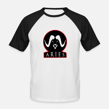 Aries Zodiac Zodiac Aries ZODIAC ARIES birthday - Men's Baseball T-Shirt