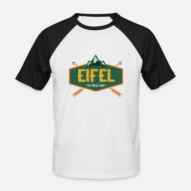 Parc National Parc national eifel - T-shirt baseball manches courtes Homme
