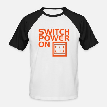 Switcher SWITCH POWER ON 2 - T-shirt baseball manches courtes Homme