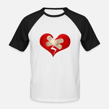 Broken Heart broken heart - Men's Baseball T-Shirt