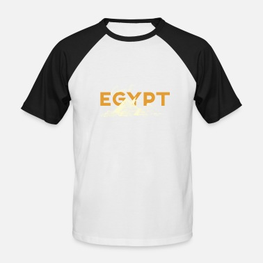come to egypt - Männer Baseball T-Shirt