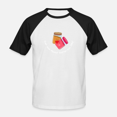 Jelly Babies Peanut butter and jelly - Men's Baseball T-Shirt