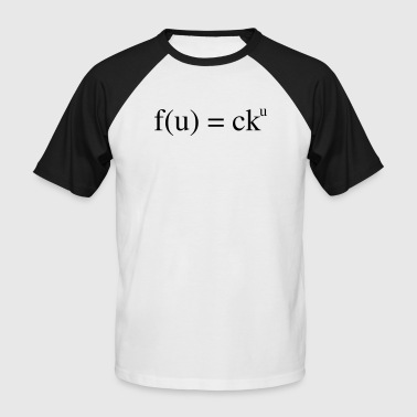 mathematical insult - Men's Baseball T-Shirt