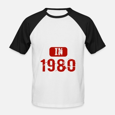 38 Years Old Legends Are Born In 1980 38 Years Old - Men's Baseball T-Shirt