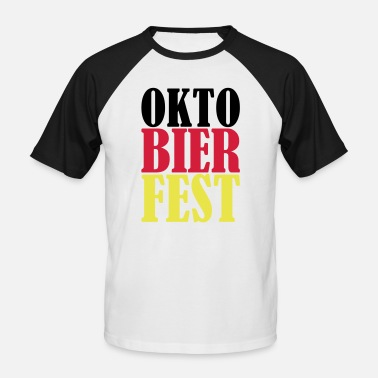 Beerfest Octoberfest beerfest - beer - Men's Baseball T-Shirt