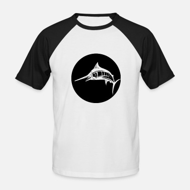 Marlin Swordfish deep-sea fishing Marlin fishing - Men's Baseball T-Shirt