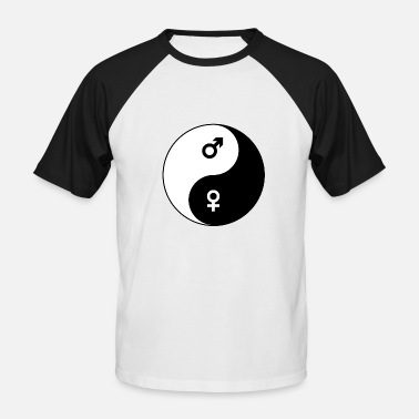 Yin Yang Marriage Yin and yang - Men's Baseball T-Shirt