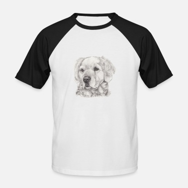 Retriever Golden retriever - T-shirt baseball manches courtes Homme