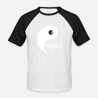 Yang Couple Yang as a couple design Yin is looking for couples - Men's Baseball T-Shirt