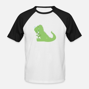 Dino Dino - Men's Baseball T-Shirt