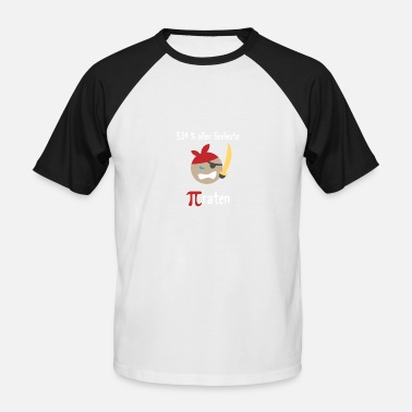 Taux Pi (taux) - T-shirt baseball manches courtes Homme